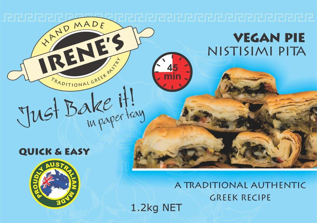 Irene's Pastry - Vegan Pie