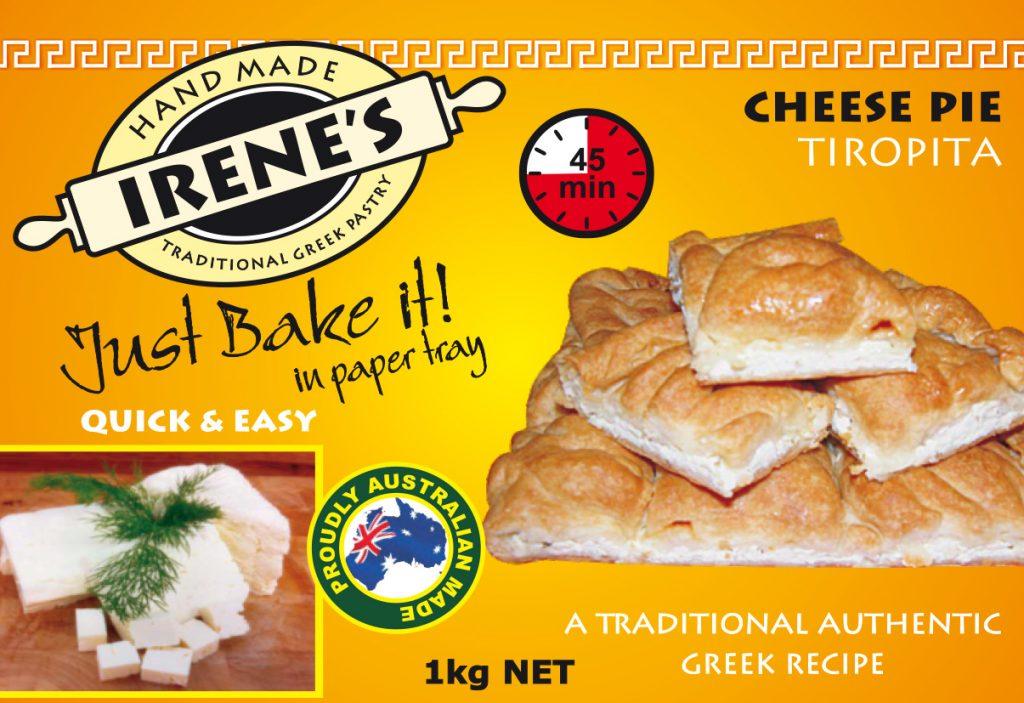 Irene's Pastry - Cheese Pie