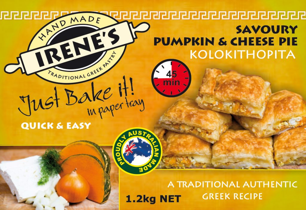 Irene's Pastry - Pumpkin Pie