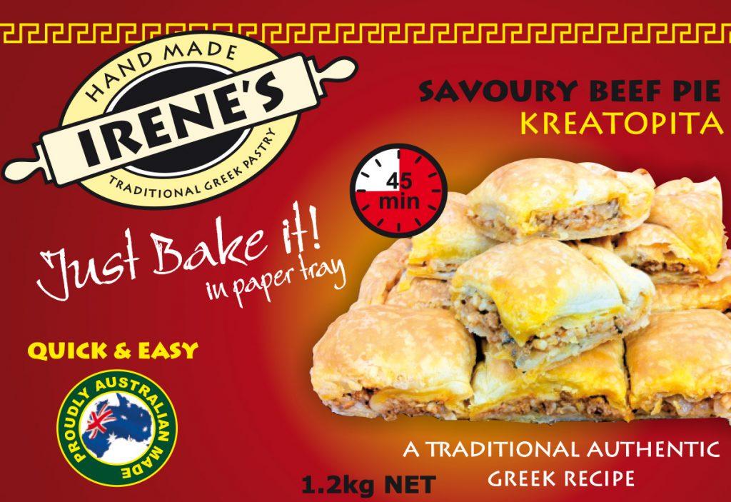 Irene's Pastry - Kreatopita