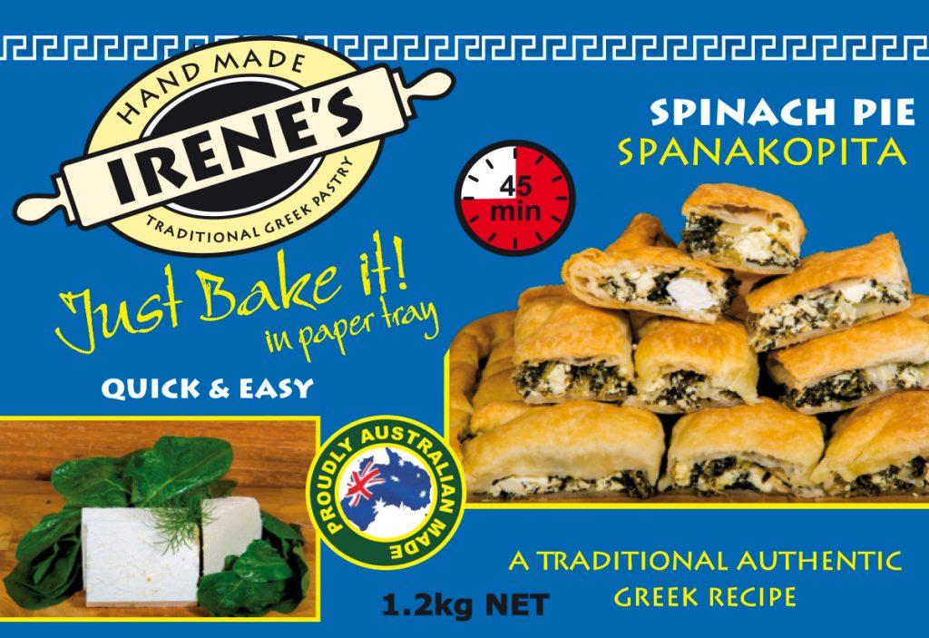 Irene's Pastry - Spanakopita